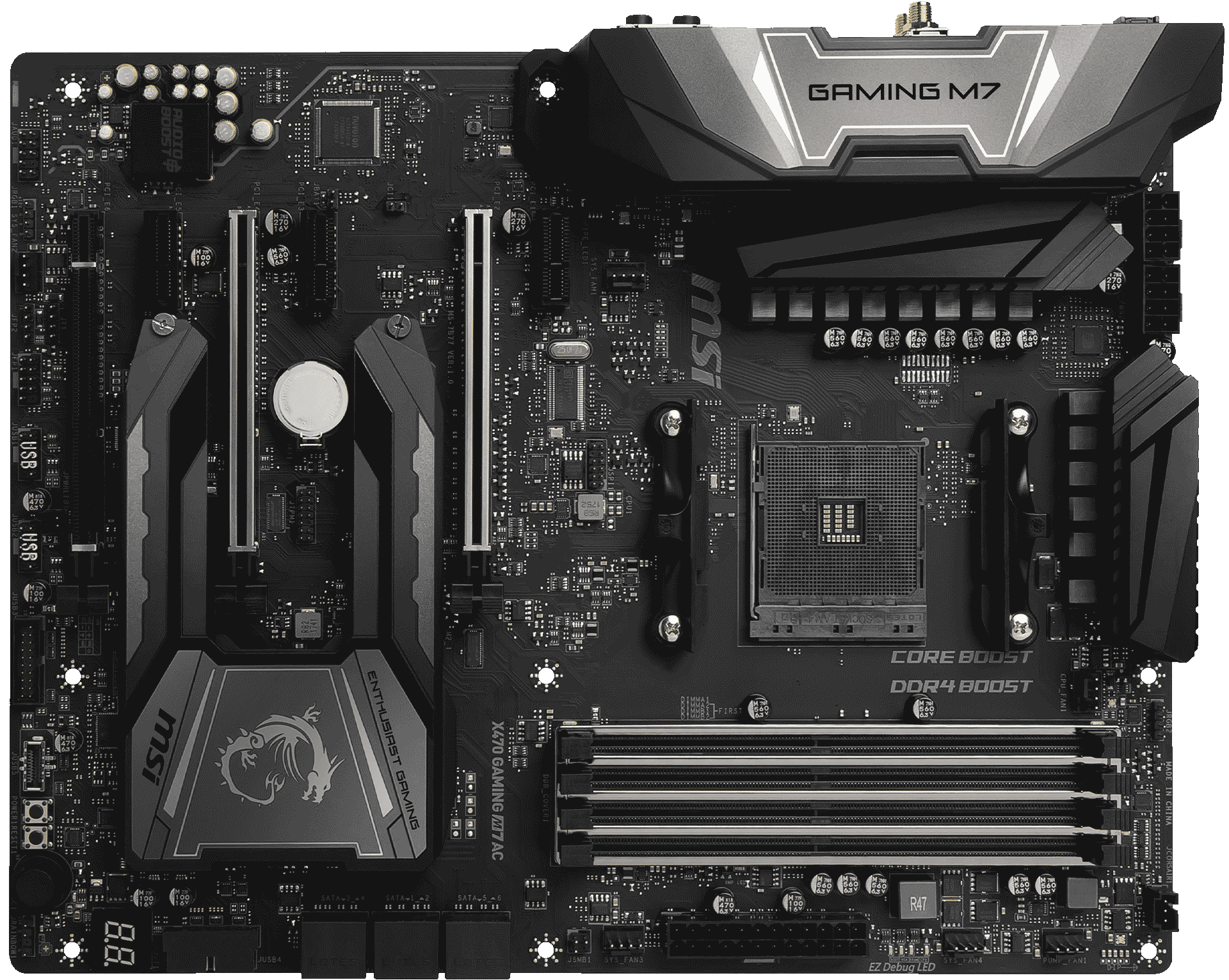 X470 GAMING M7 AC | Motherboard - The world leader in motherboard