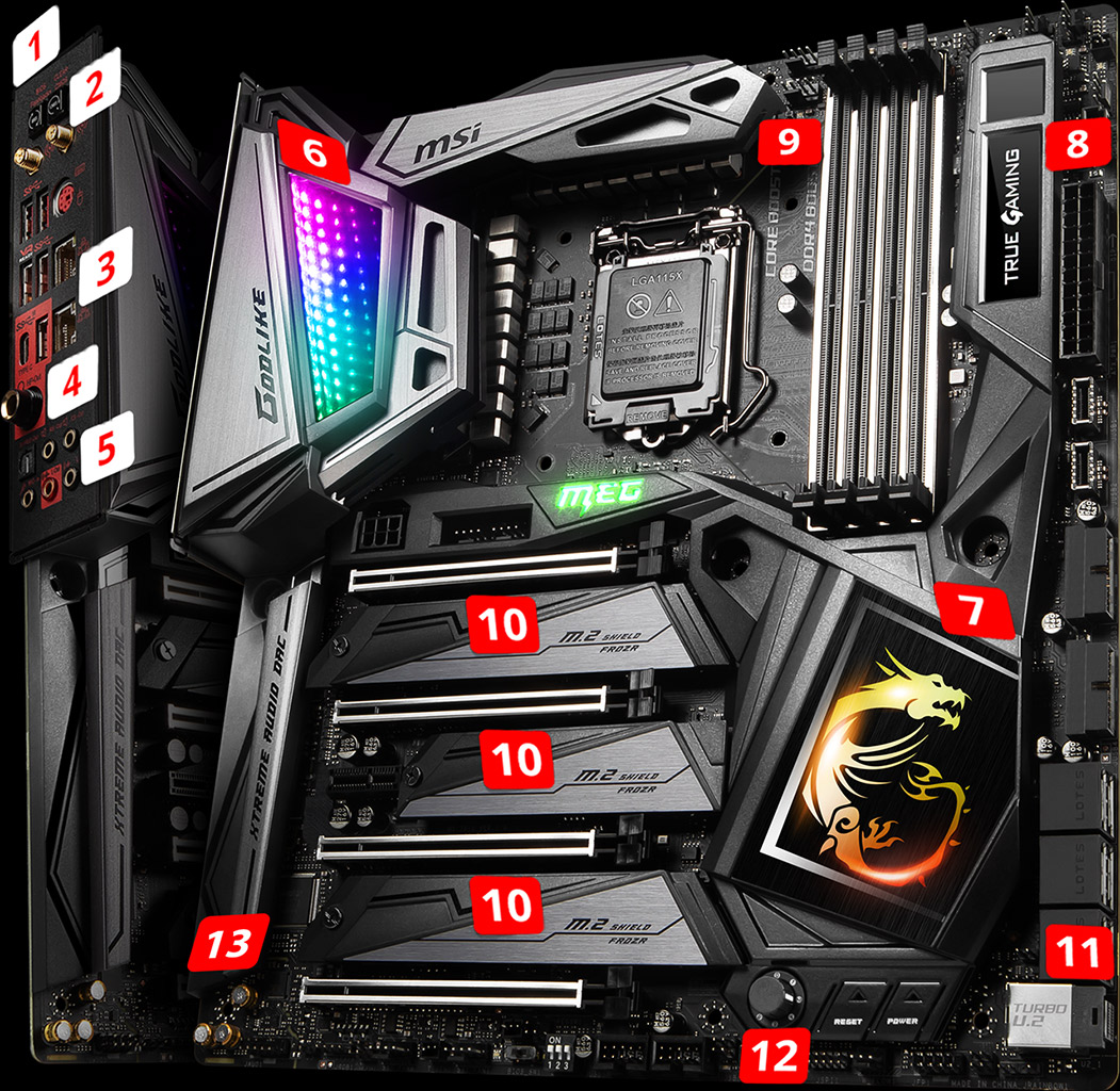 MEG Z390 GODLIKE | Motherboard - The world leader in