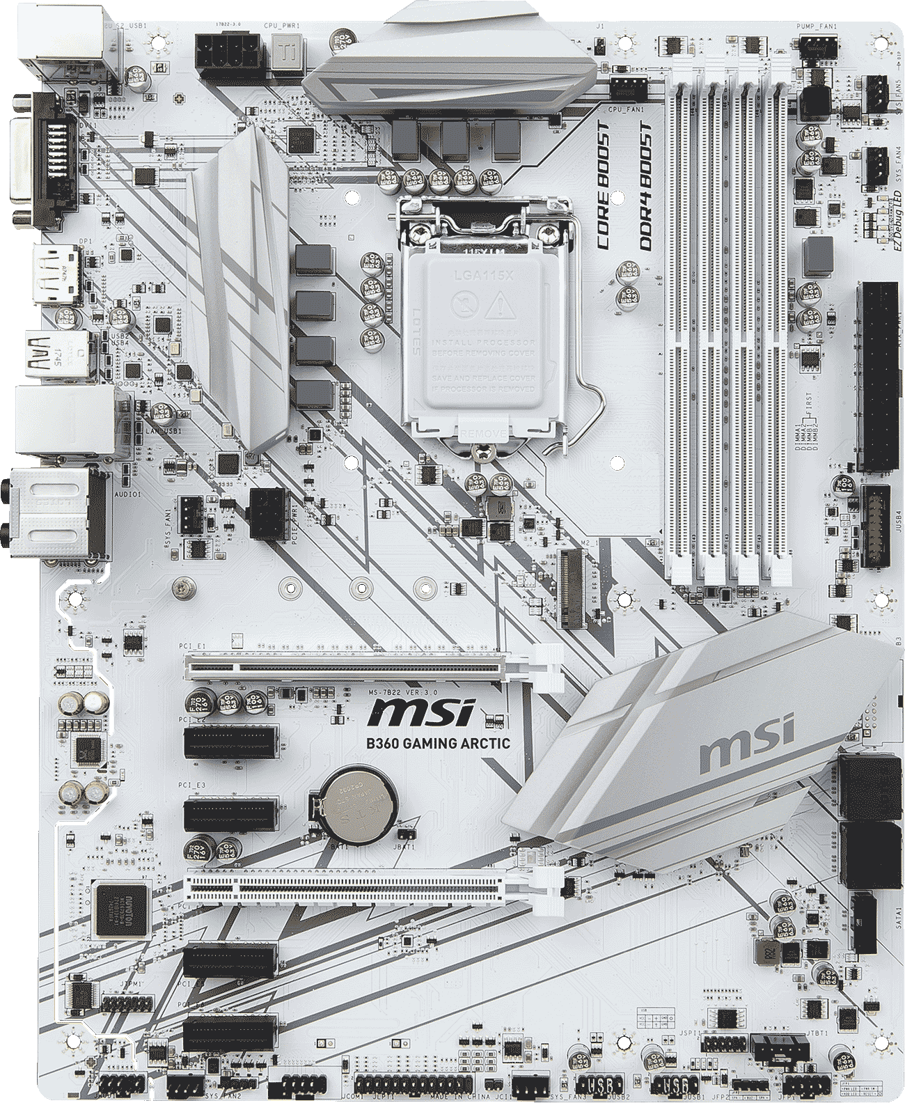 B360 Gaming Arctic Motherboard The World Leader In Msi Diagram Off