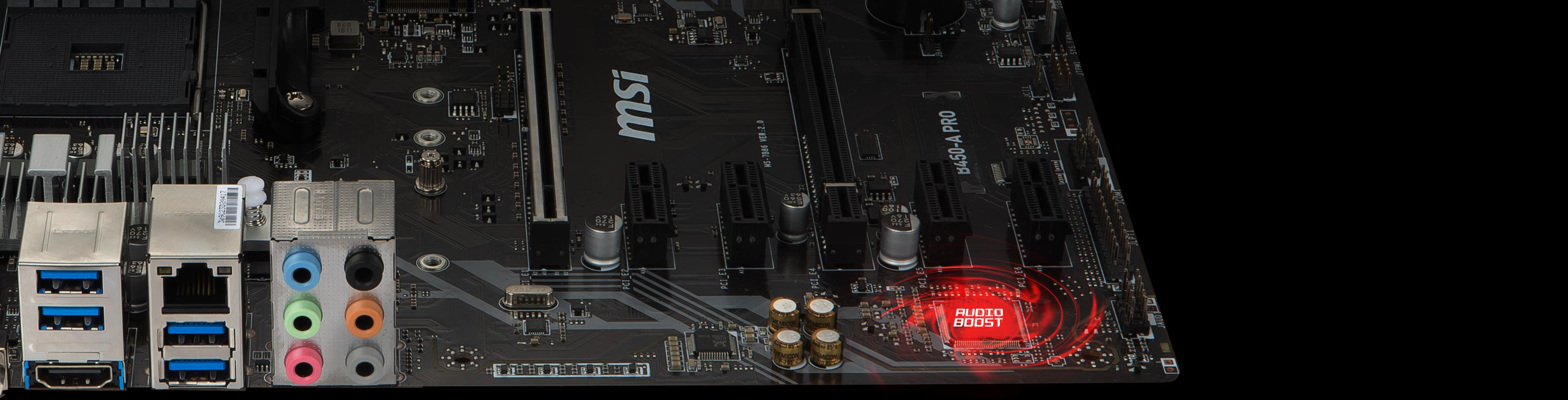 B450-A PRO | Motherboard - The world leader in motherboard