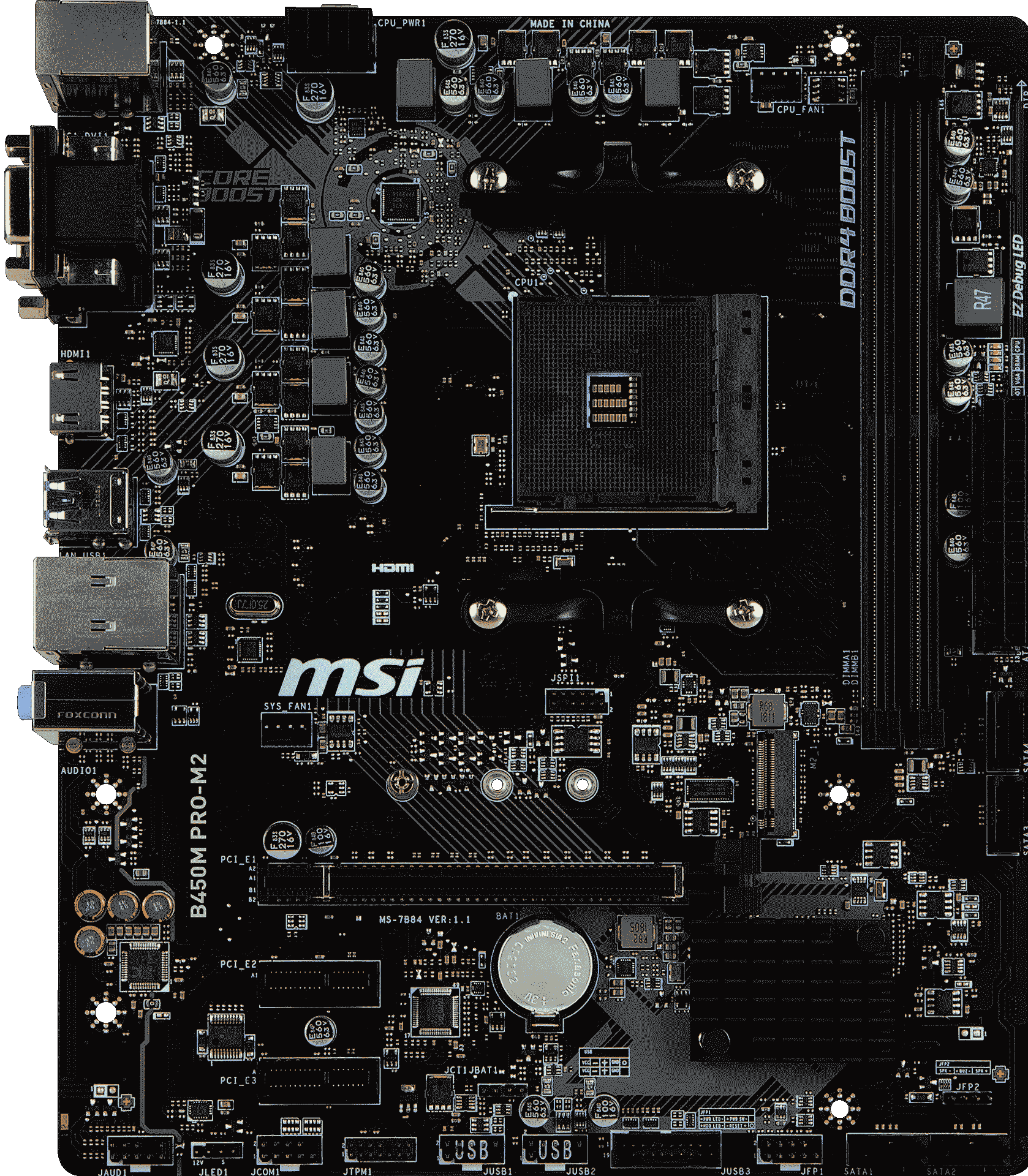 Image result for MSI B450M PRO-M2 Gaming Motherbard