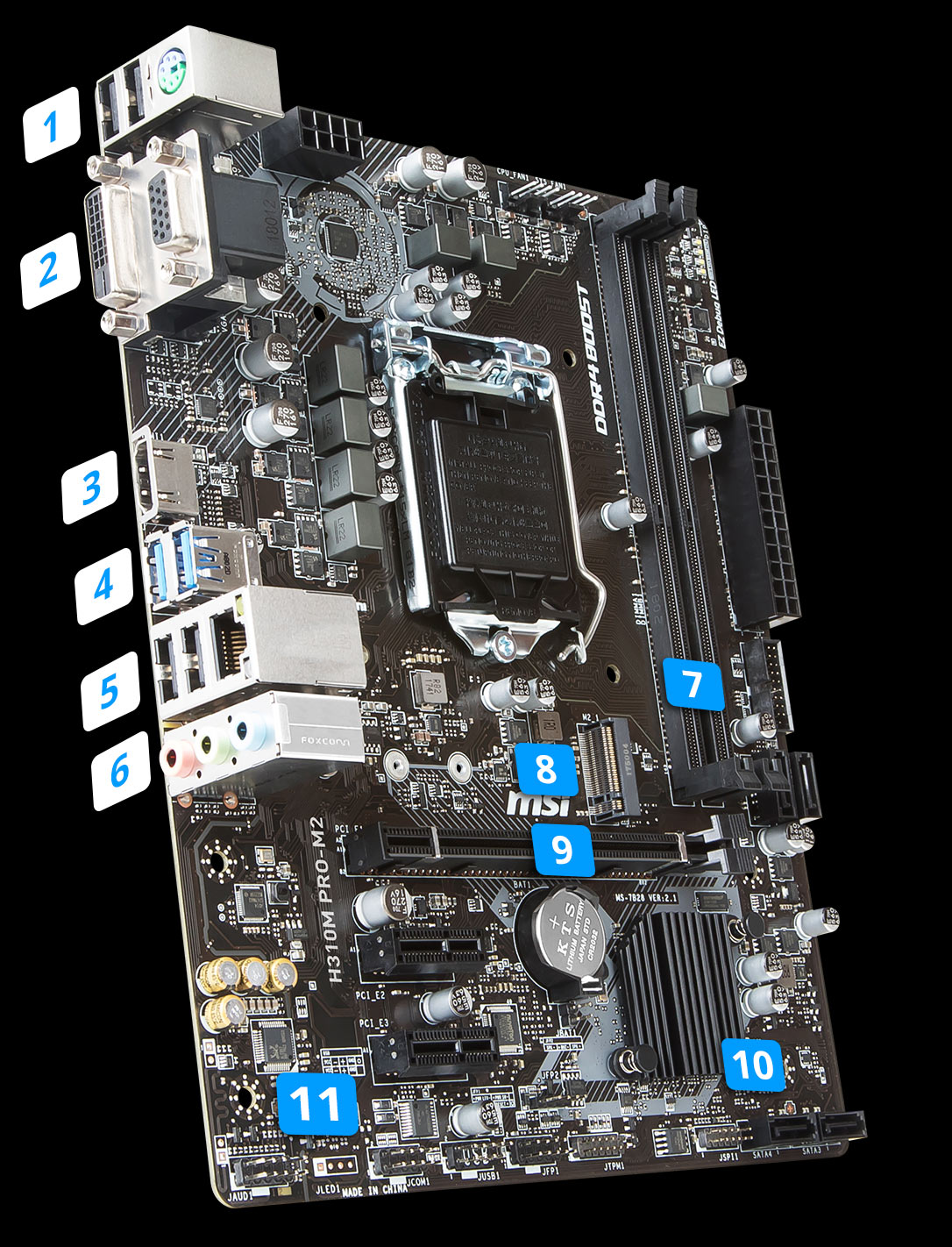 H310M PRO-M2 | Motherboard - The world leader in motherboard design