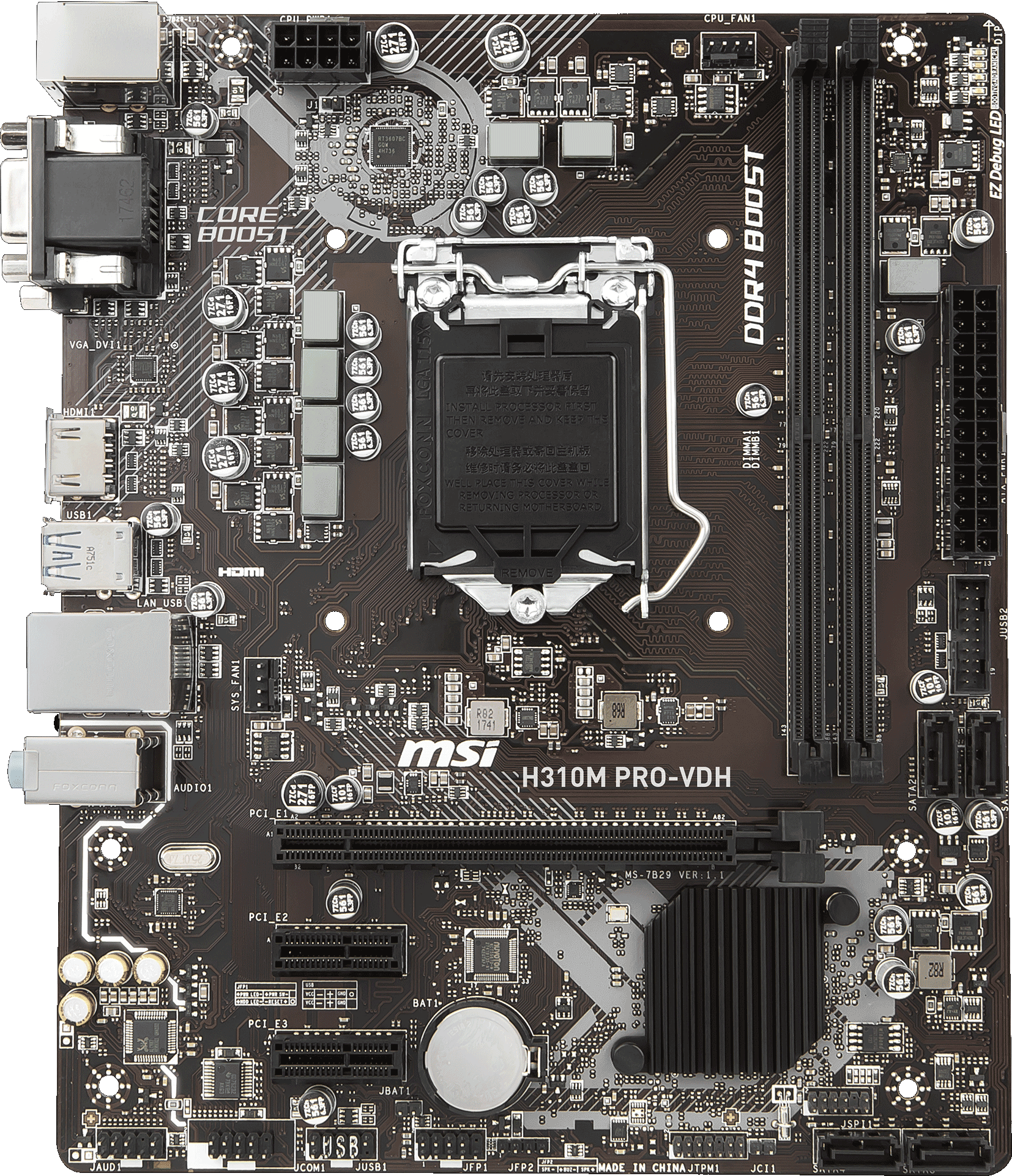 H310M PRO-VDH | Motherboard - The world leader in
