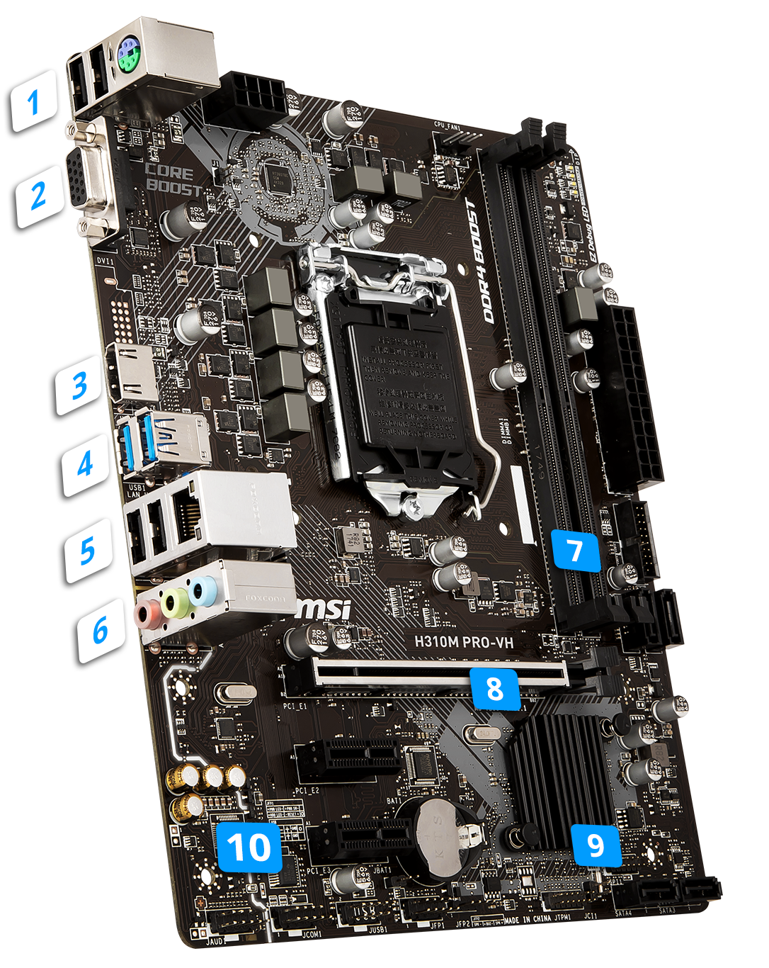 H310M PRO-VH | Motherboard - The world leader in motherboard