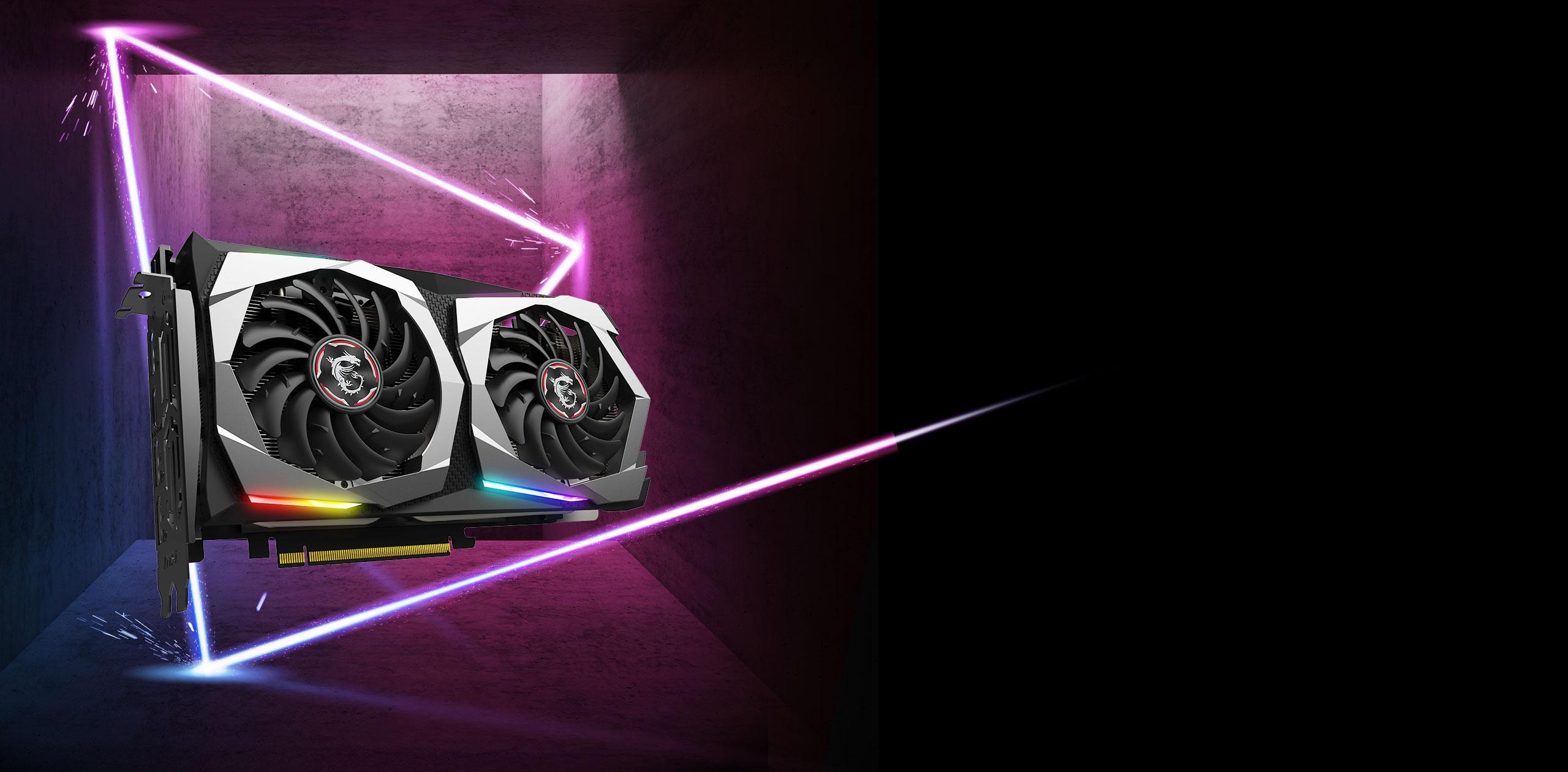 No SLI MSI GeForce GTX 1660 GAMING X 6G Graphics Card VR Ready PCI-E x16