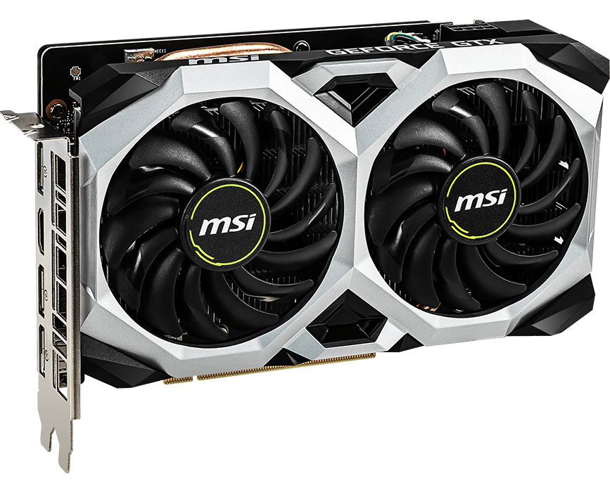 No SLI MSI GeForce GTX 1660 GAMING X 6G Graphics Card VR Ready PCI-E x16