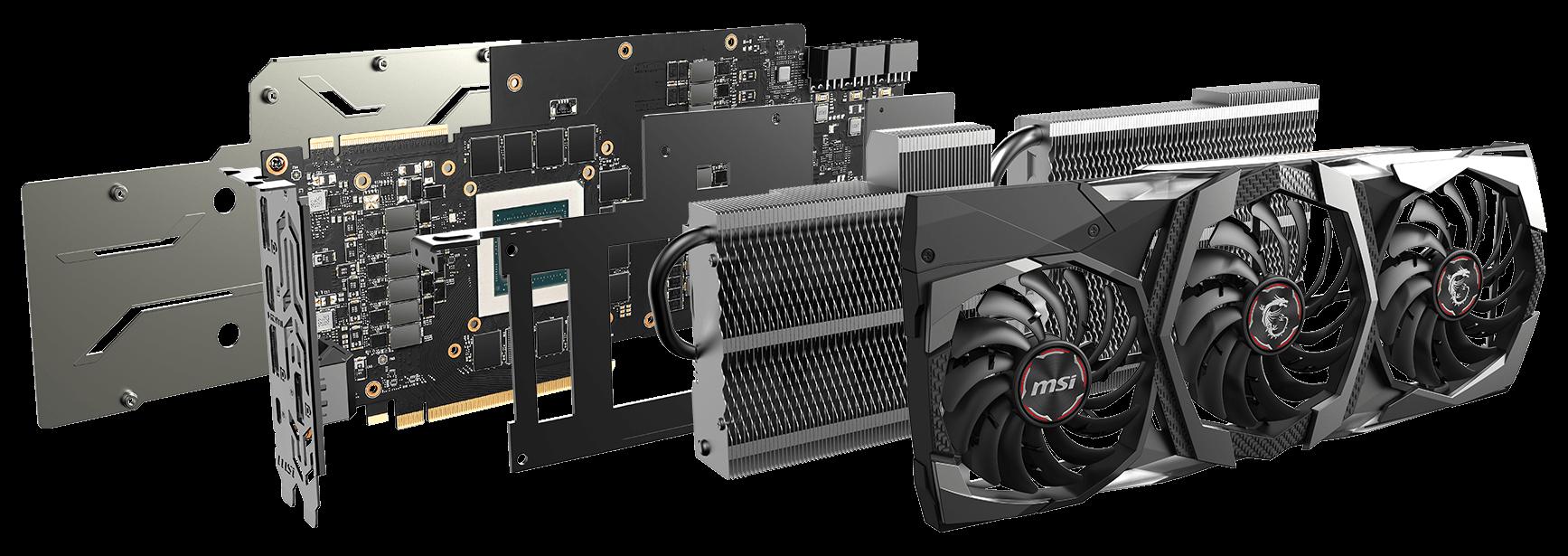 GeForce RTX 2080 Ti GAMING X TRIO | Graphics card - The