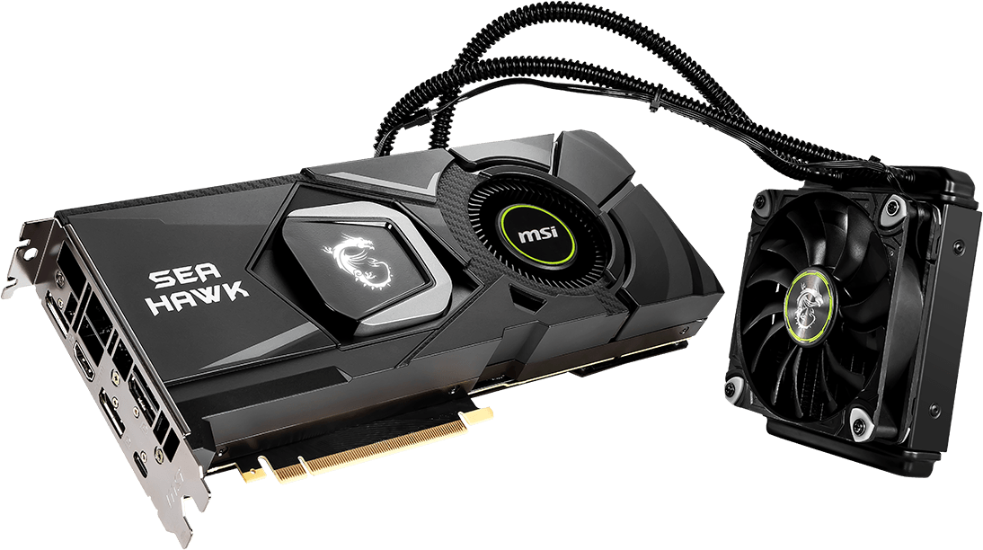 GeForce RTX 2080 Ti SEA HAWK X | Graphics card - The world