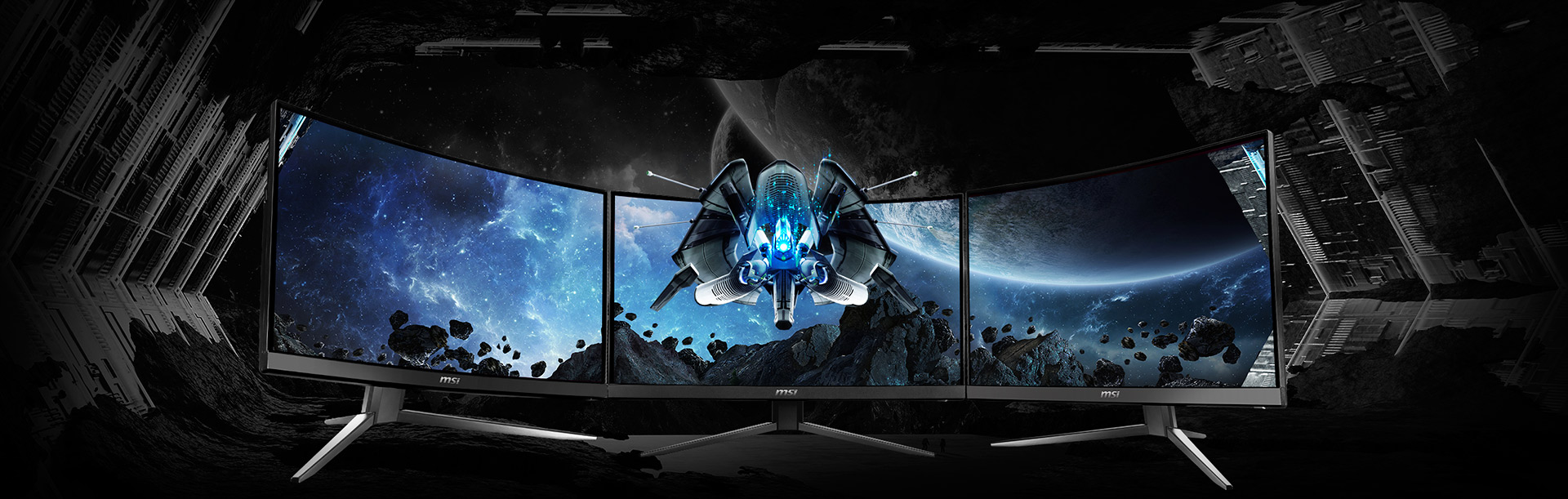 Monitor - Curved Gaming Monitor - MAG241C | MSI Global
