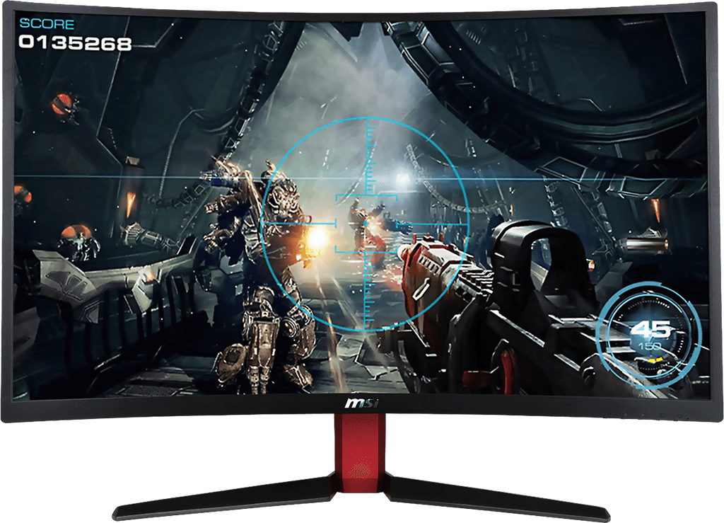 "Monitor gamer Curvo Msi Optix AG32C 32"" - 165hz - 1ms - HDMI 1 OPTIXAG32C"