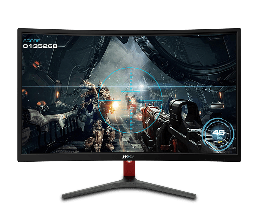 "MSI Optix MAG240VC 23.6/"" 1ms HDMI Widescreen LED Backlight 144 Hz Gaming Monitor"