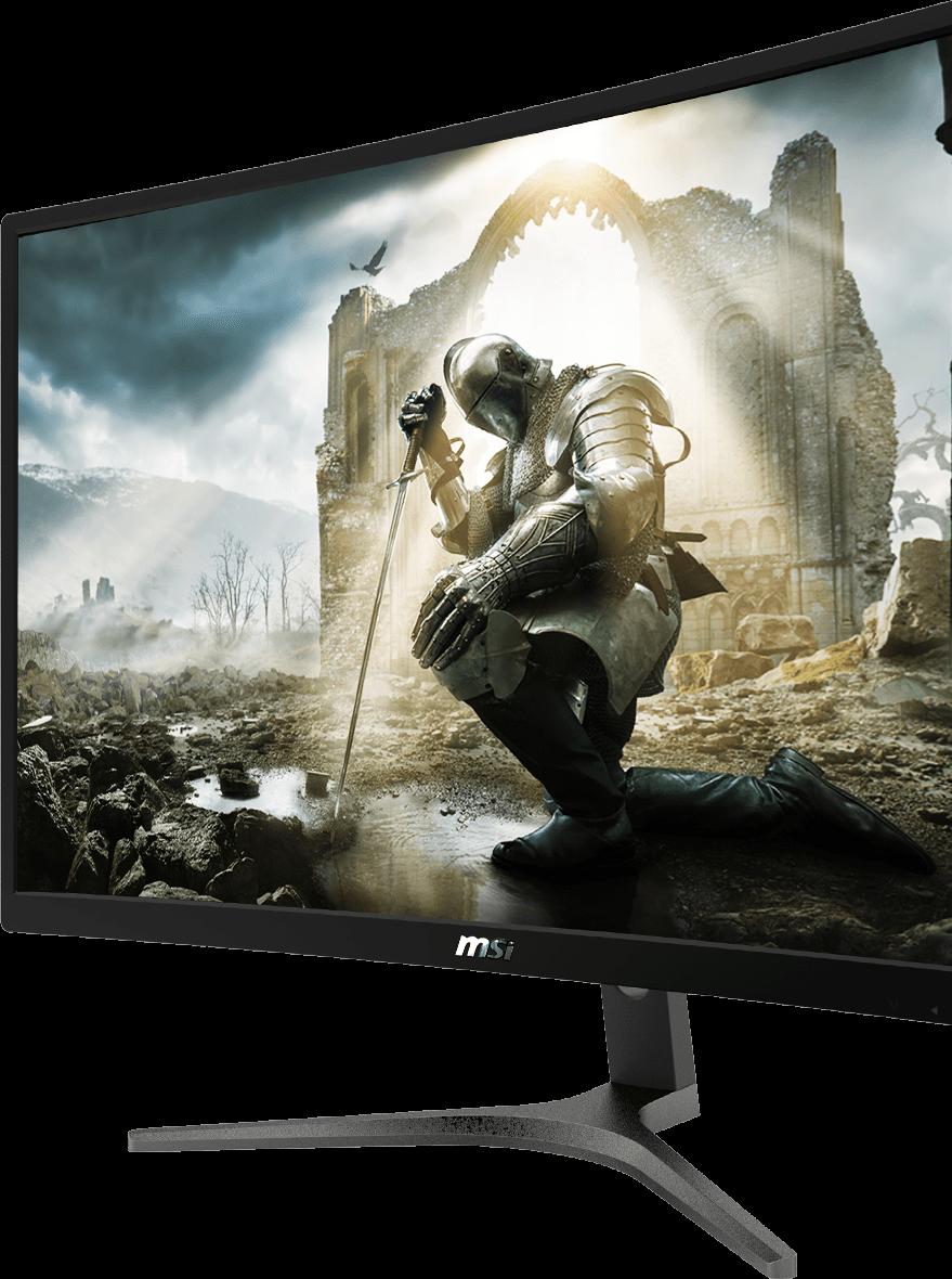 "optix-g24vc-spec MSI OPTIX G241-VC 23.6"" Curved Gaming Monitor 1920 x 1080 - Frameless - 1ms - 1x HDMI - 1x VGA MODEL : Optix G241VC - GameDude Computers"