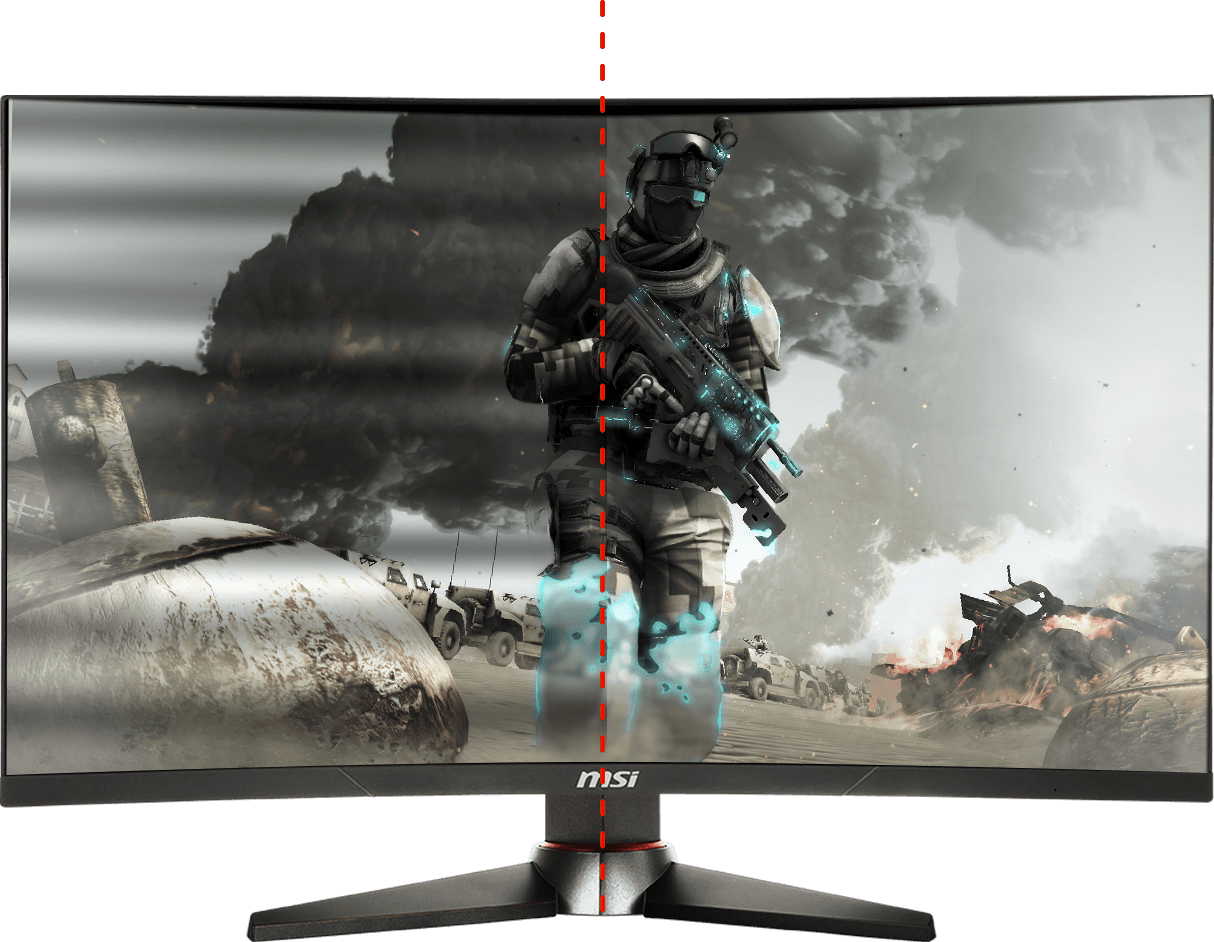 Monitor - Curved Gaming Monitor - MAG24C | MSI Global