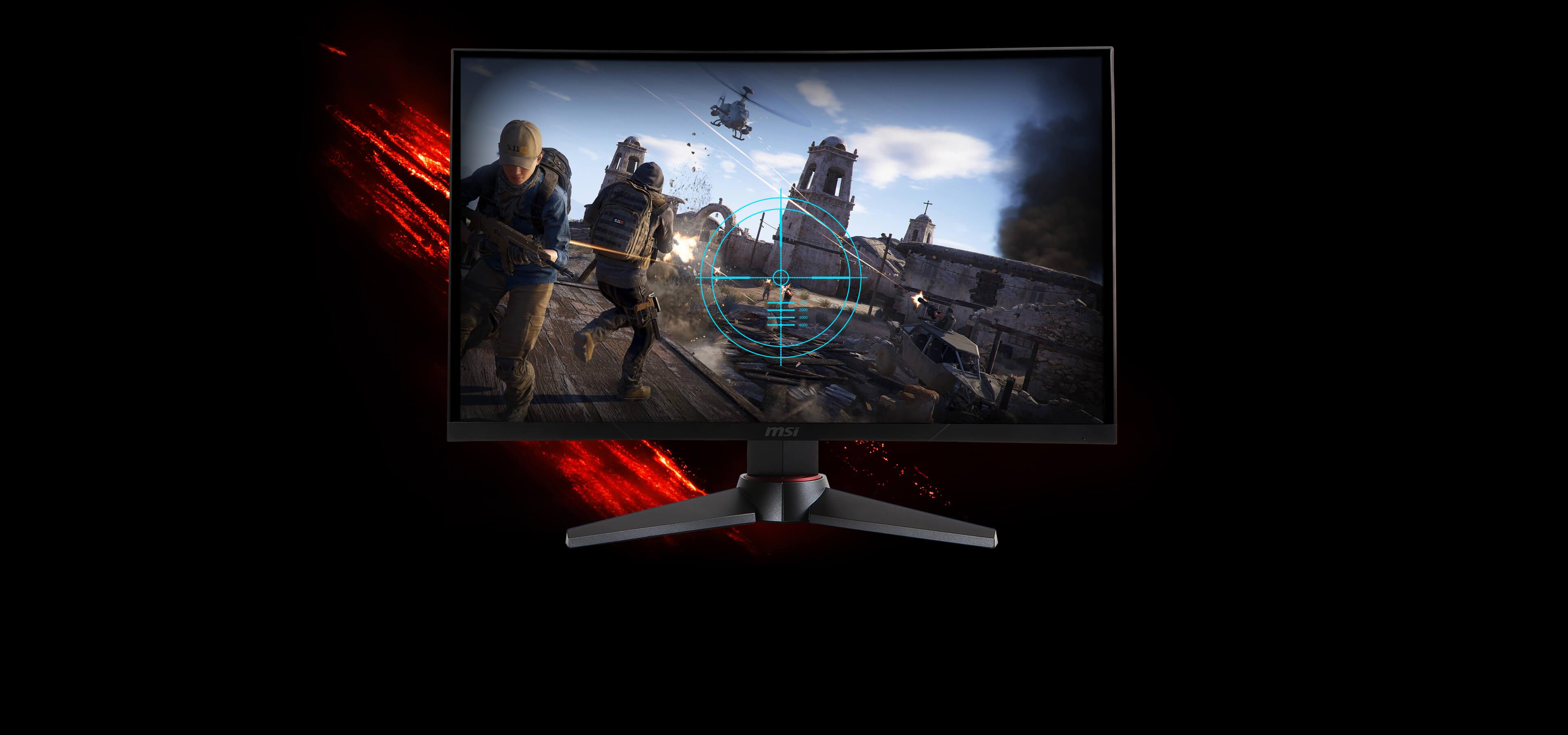 Monitor - Curved Gaming Monitor - MAG27CQ | MSI Global