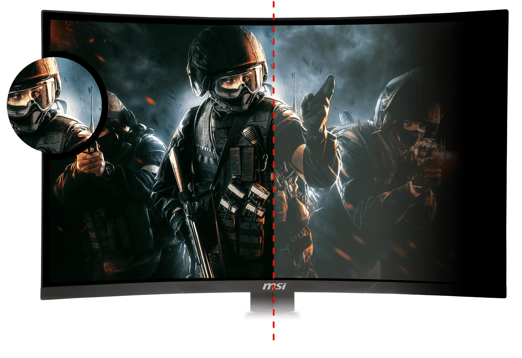 Monitor - Curved Gaming Monitor - MAG27CQ | MSI Global