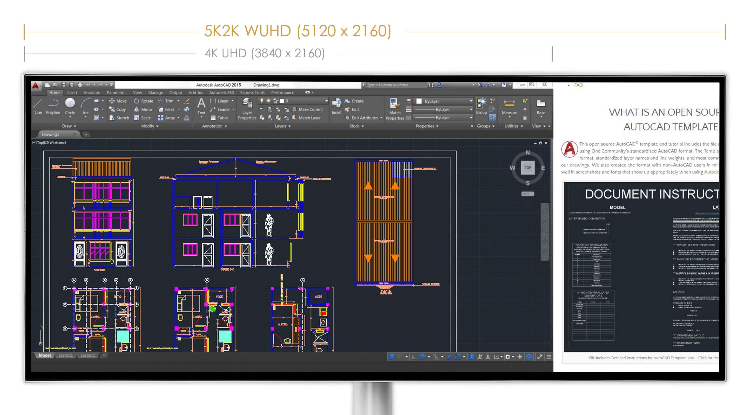 Prestige PS341WU | Designer & Creator's Monitor | We are