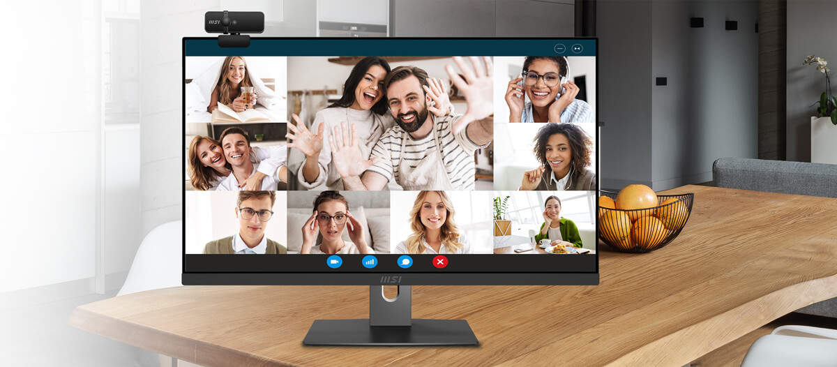 Connect To The World At Home With FHD Webcam