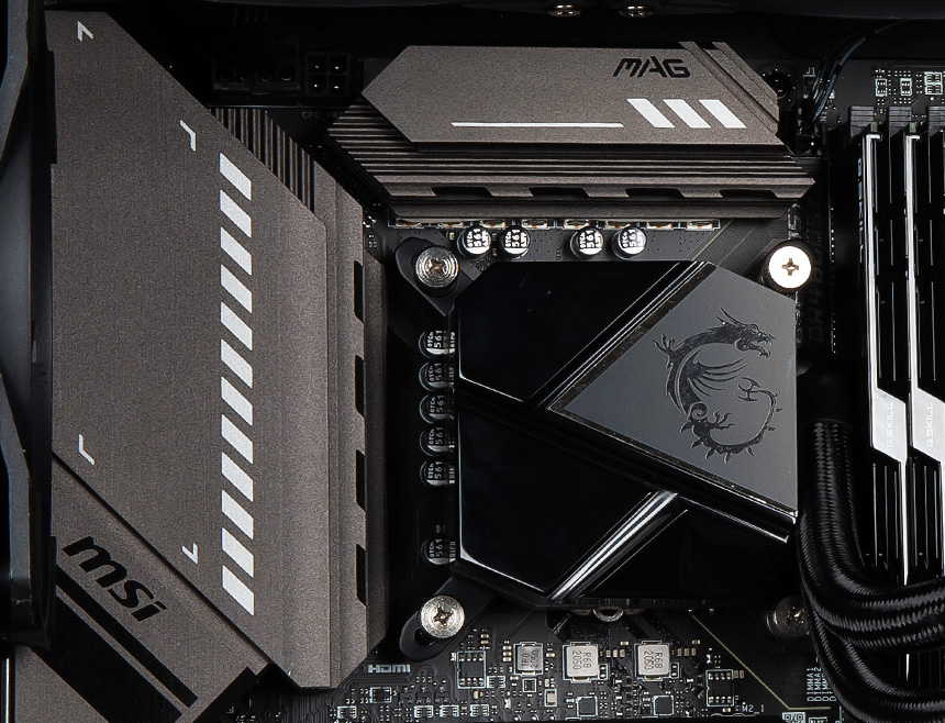 msi Mag Core Liquid p with amd and intel