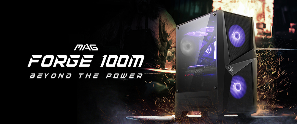 MSI MAG FORGE 100M overview