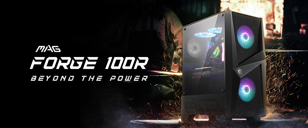 MSI MAG FORGE 100R overview
