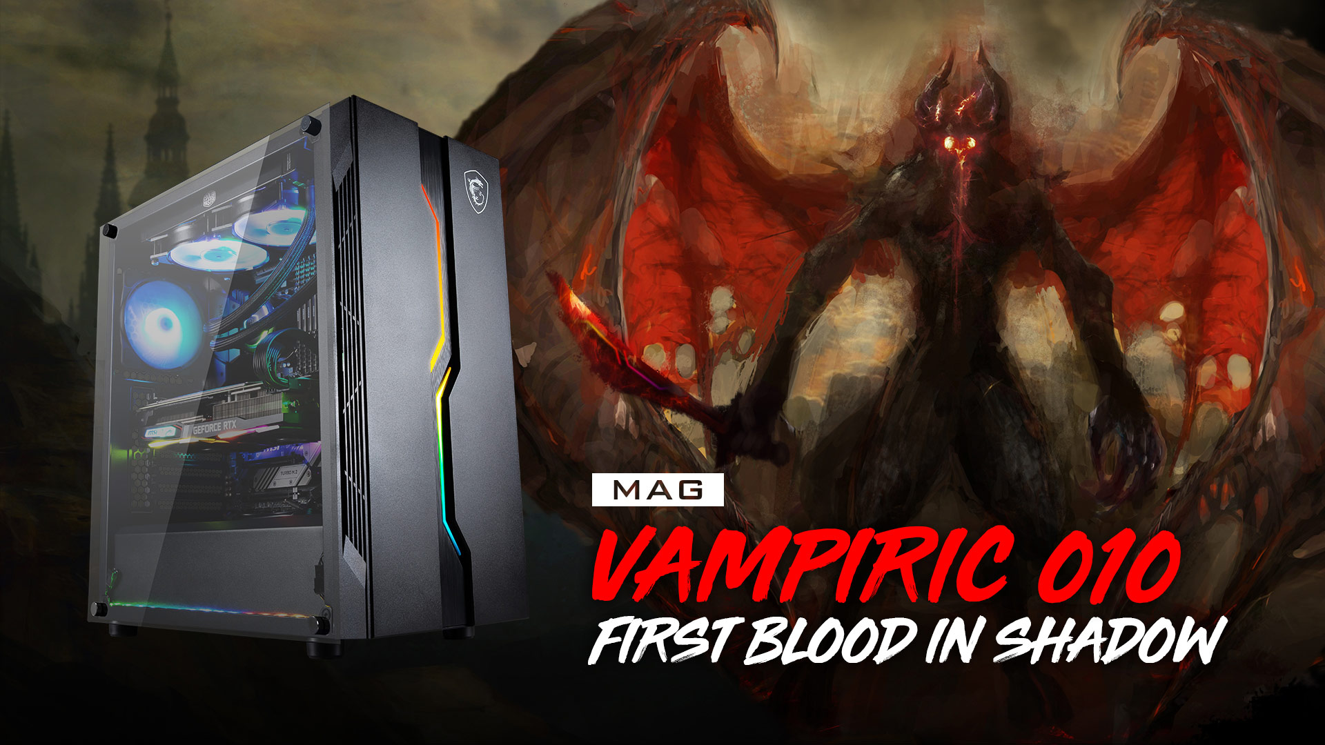 MSI MAG vampiric overview
