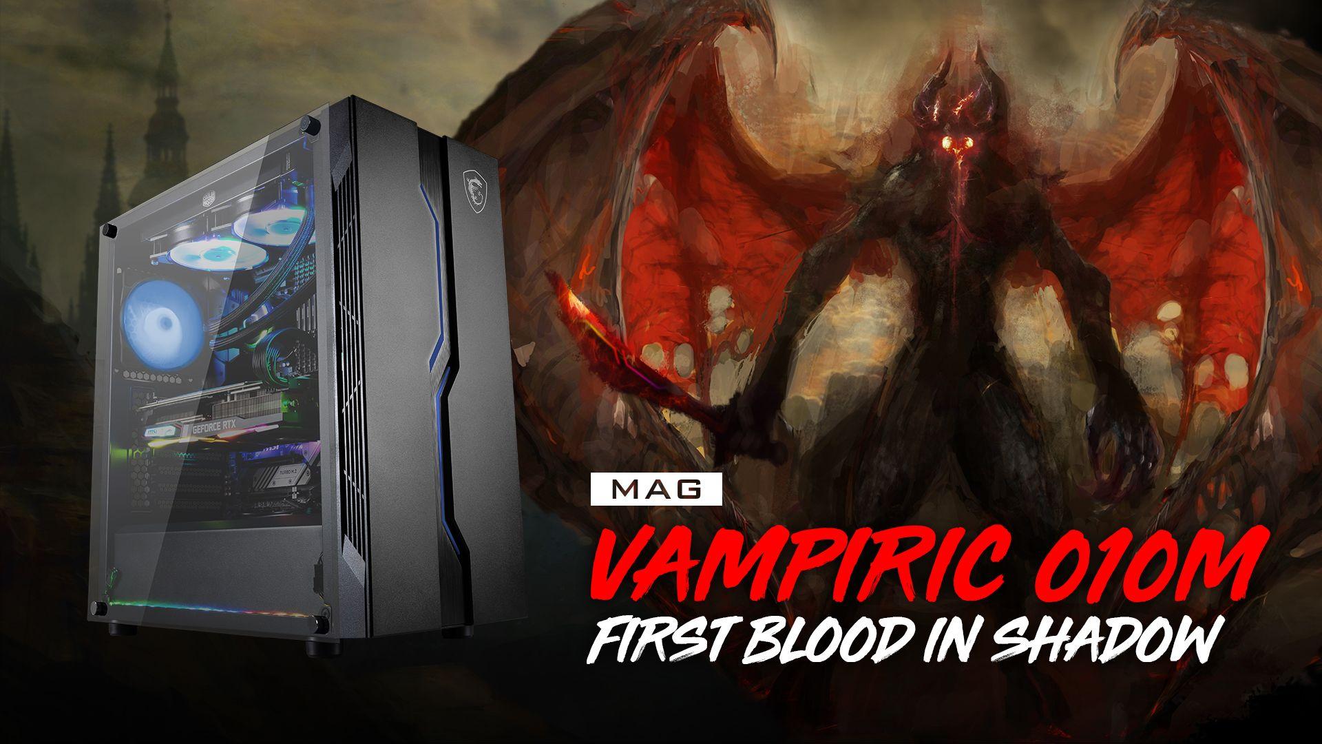 MSI MAG VAMPIRIC 010M CASE