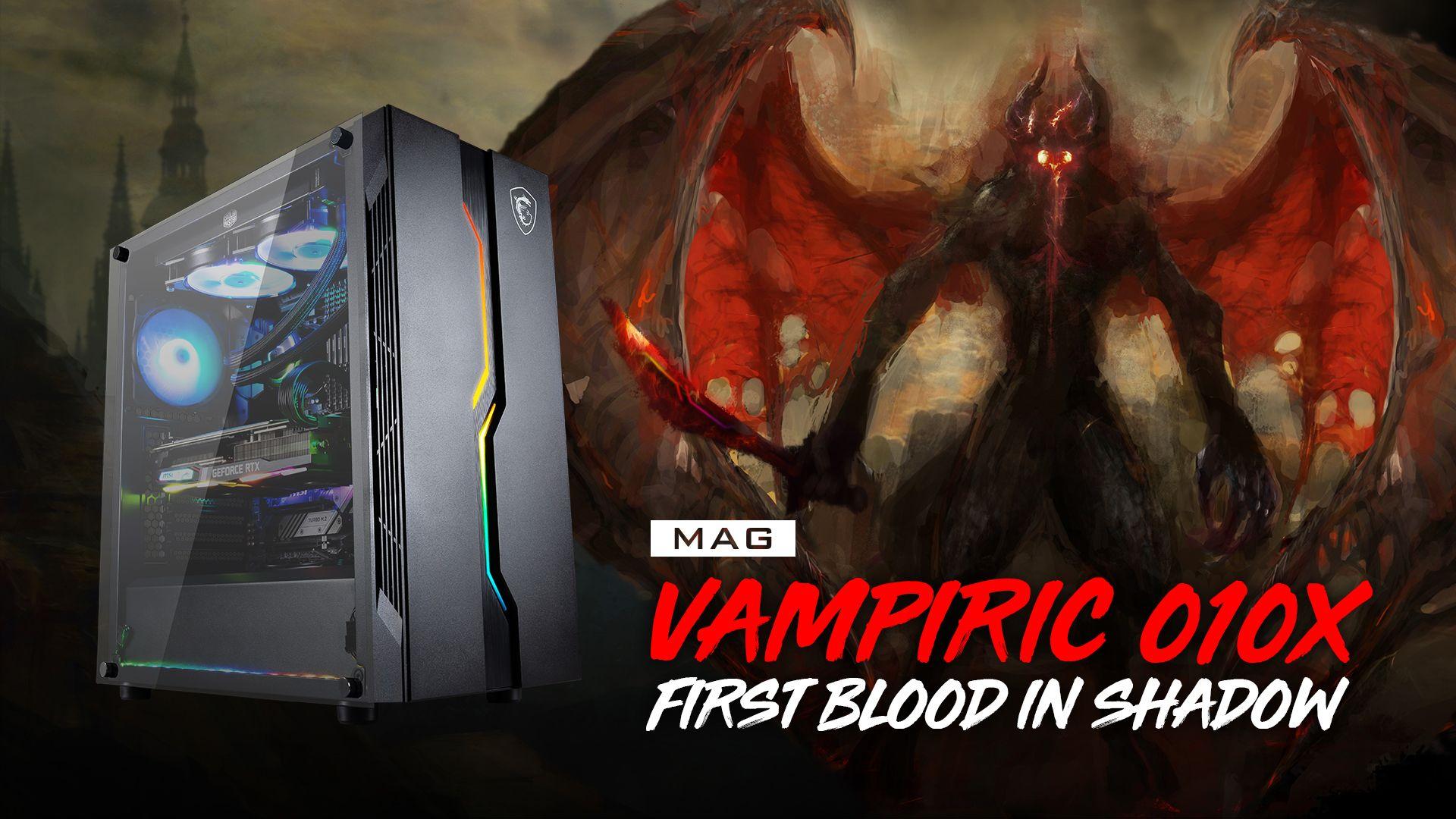 MSI MAG VAMPIRIC 010X CASE