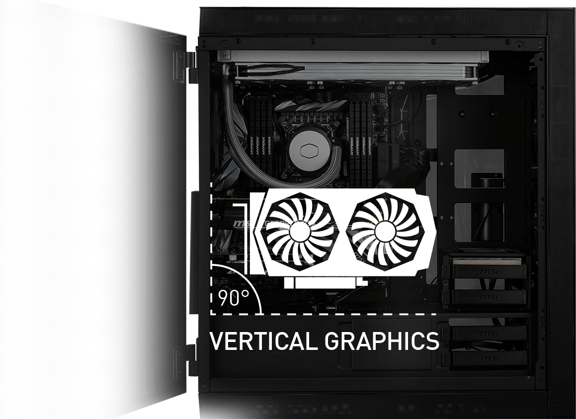 vertical graphics support