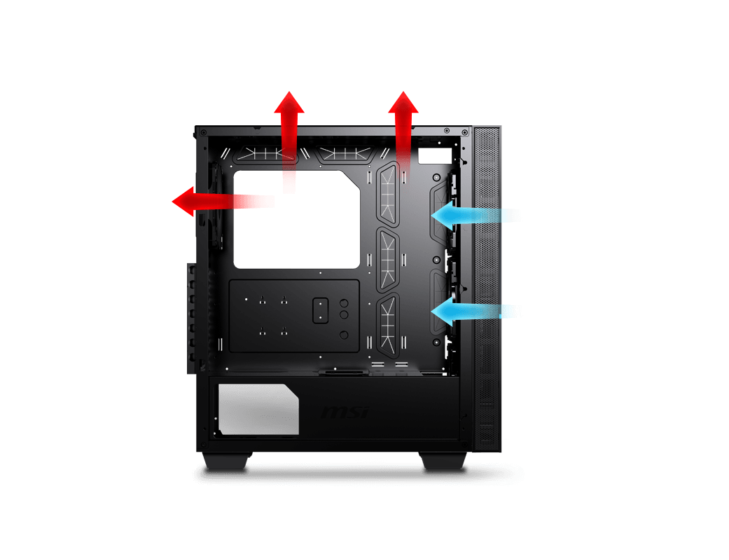 Optimized Airflow Design