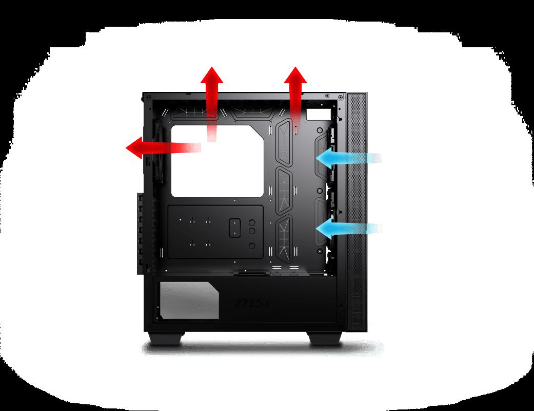 Optimized Airflow Design