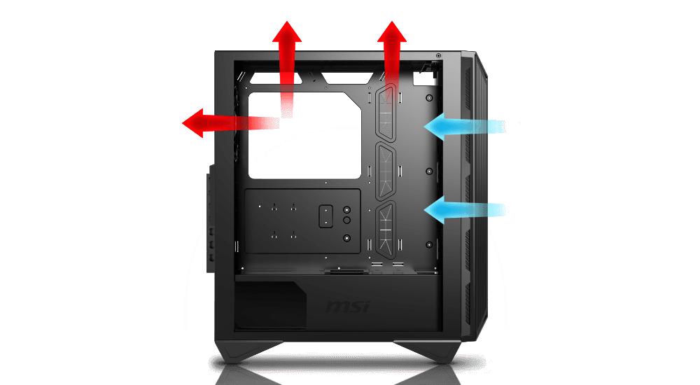 Optimized Airflow