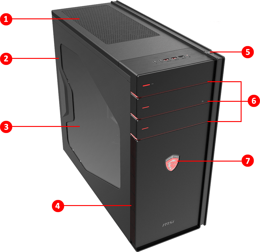 Codex 3 | Desktop - The most versatile consumer pc | MSI Global