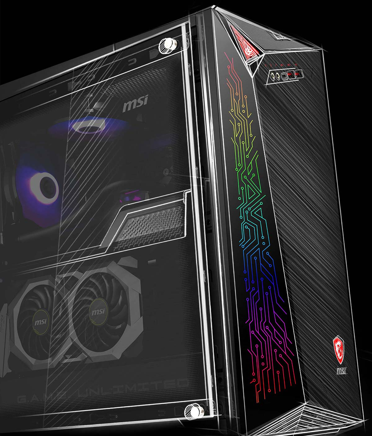msi infinite X 10th
