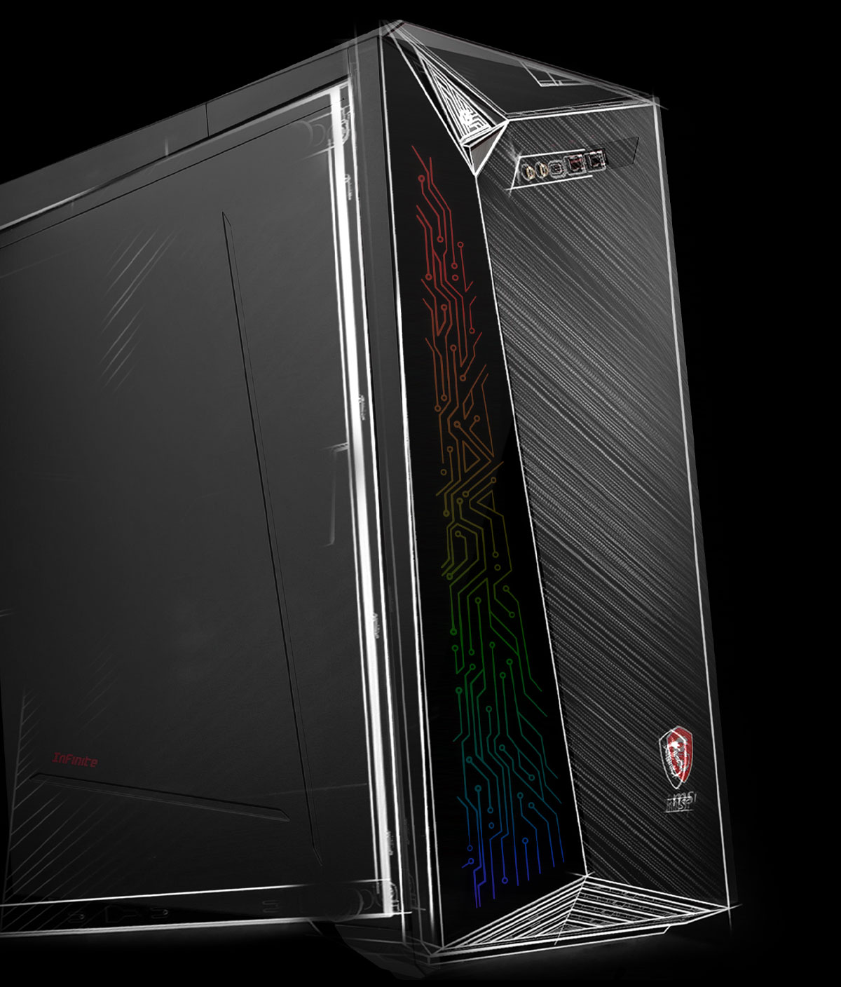 msi infinite  10th