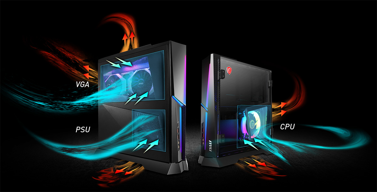 Trident X Plus cooling