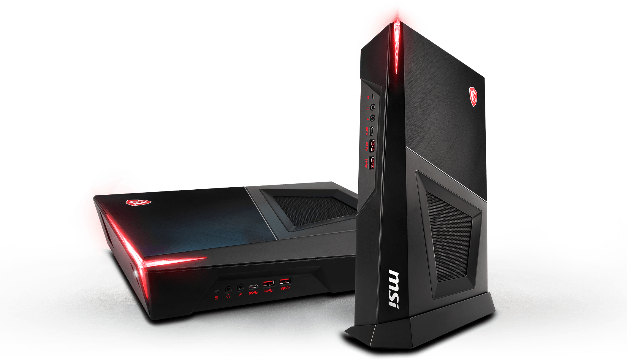 msi Trident 3 red light