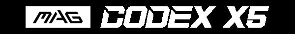 codex x5 text logo