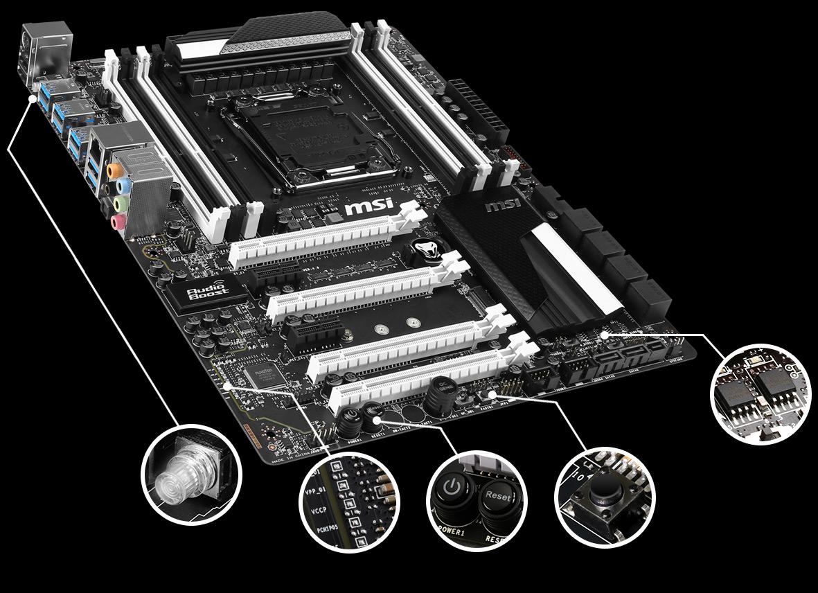 Msi x99s sli krait edition lga 2011-v3 intel x99 unboxing youtube.