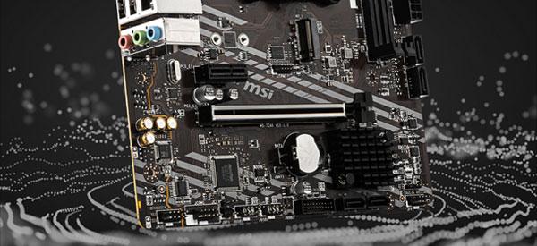 msi B550m a Pro audio thumbnail