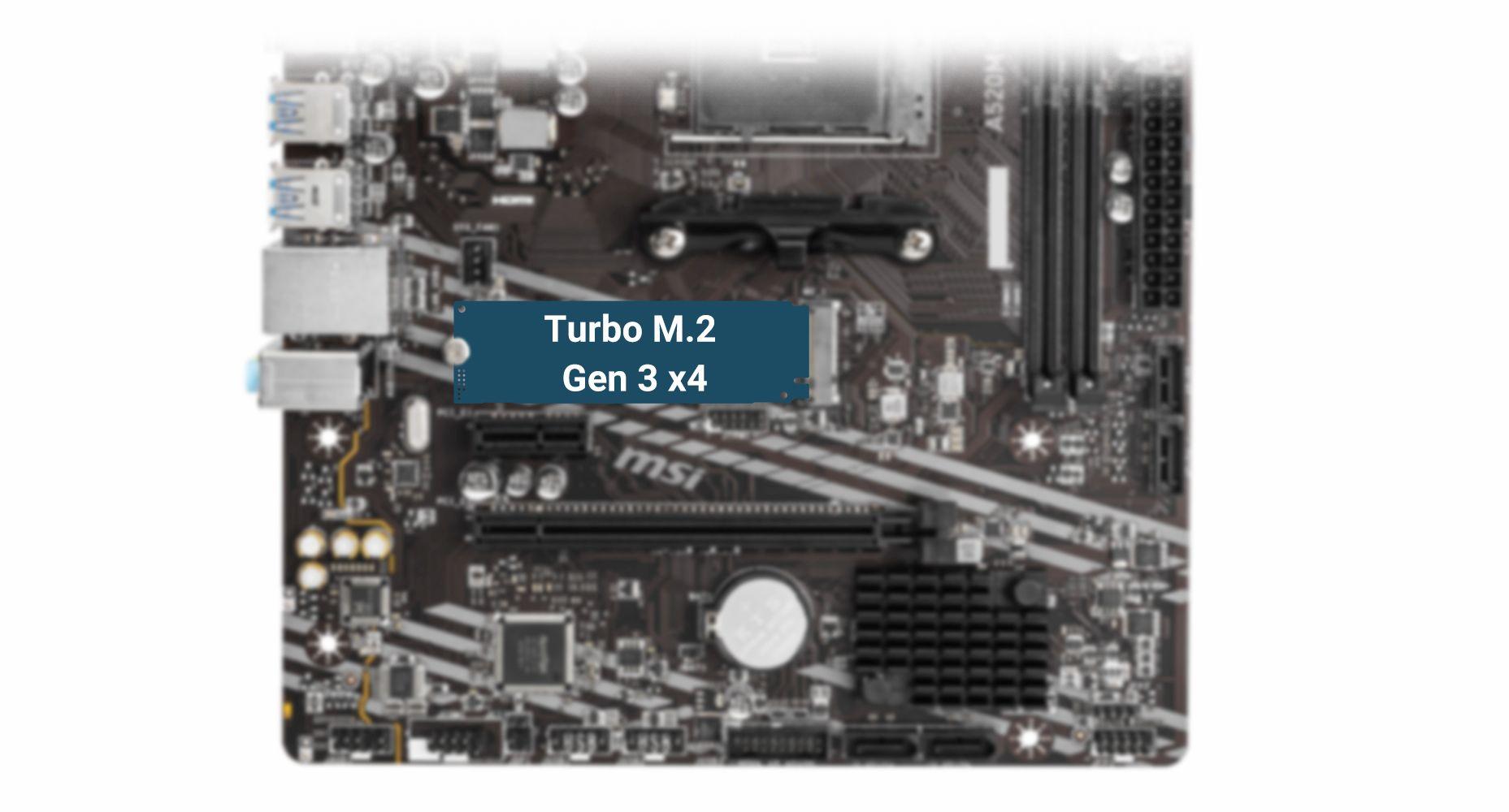 MSI A520M -A PRO TURBO M.2
