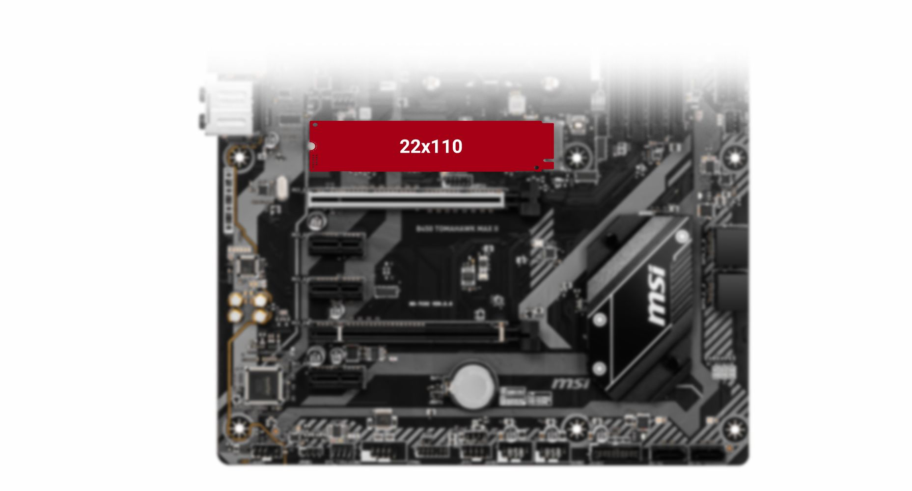 MSI B450 TOMAHAWK MAX II EXTREME STORAGE PERFORMANCE: TURBO M.2
