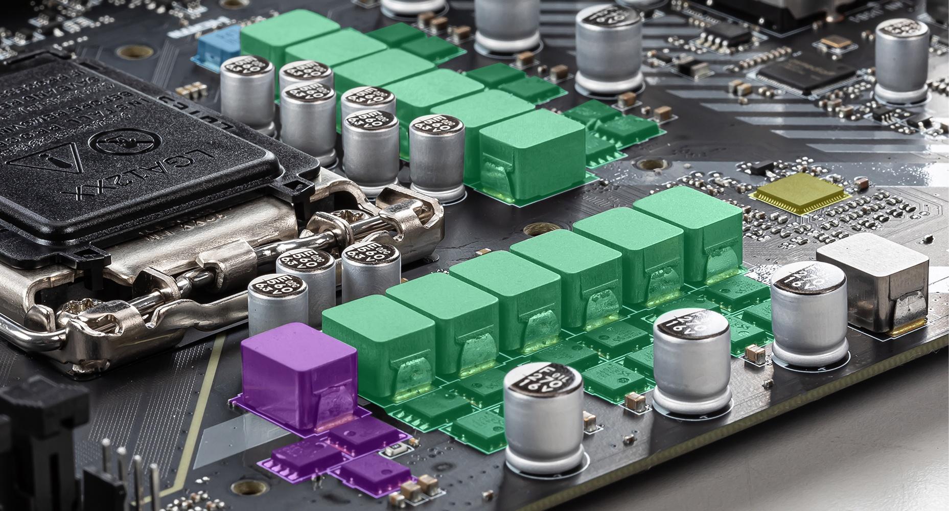 MSI MAG B460 TOMAHAWK 12+1+1 DUET RAIL POWER SYSTEM