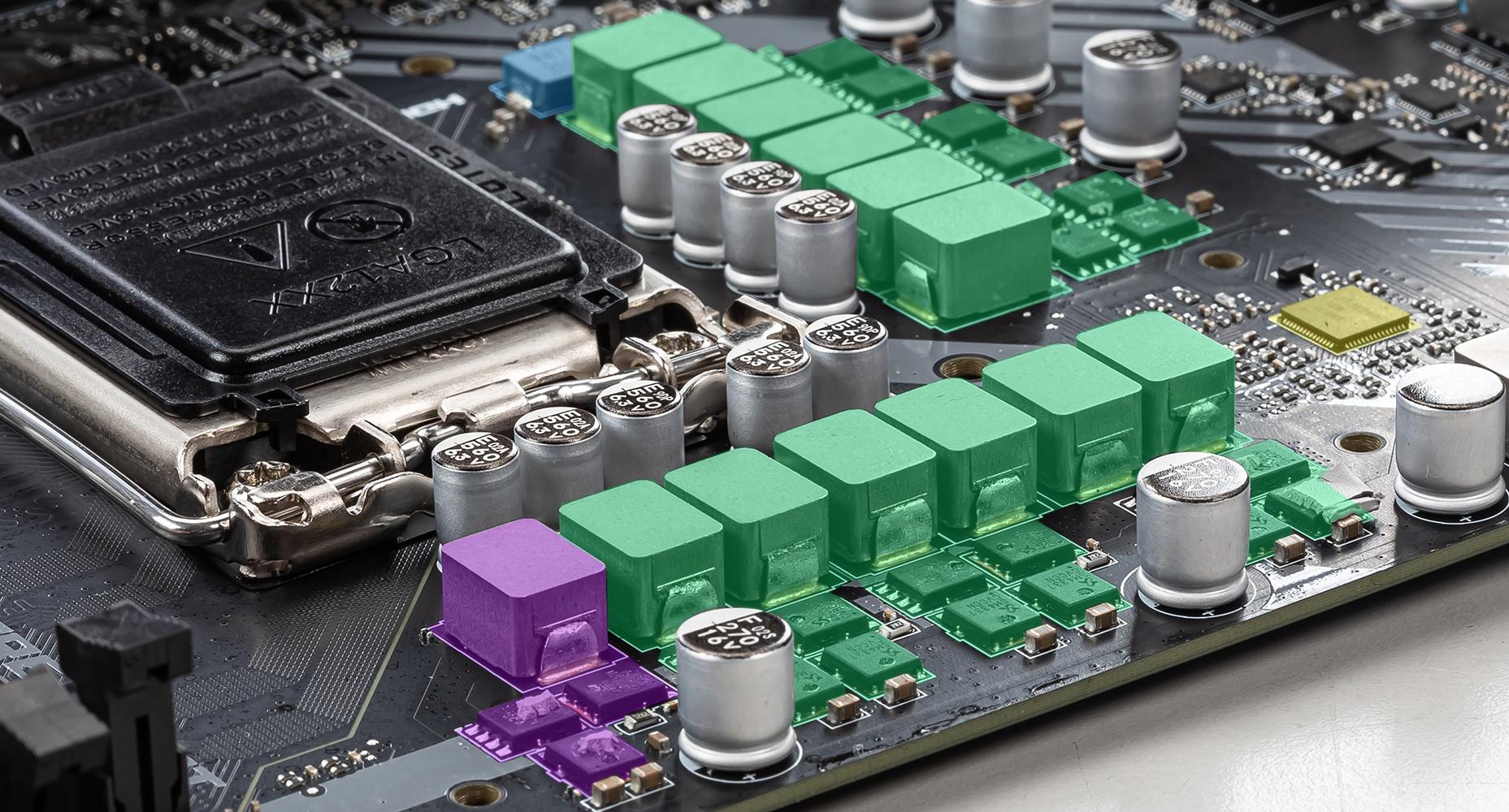 MSI MAG B460M MORTAR 12+1+1 DUET RAIL POWER SYSTEM