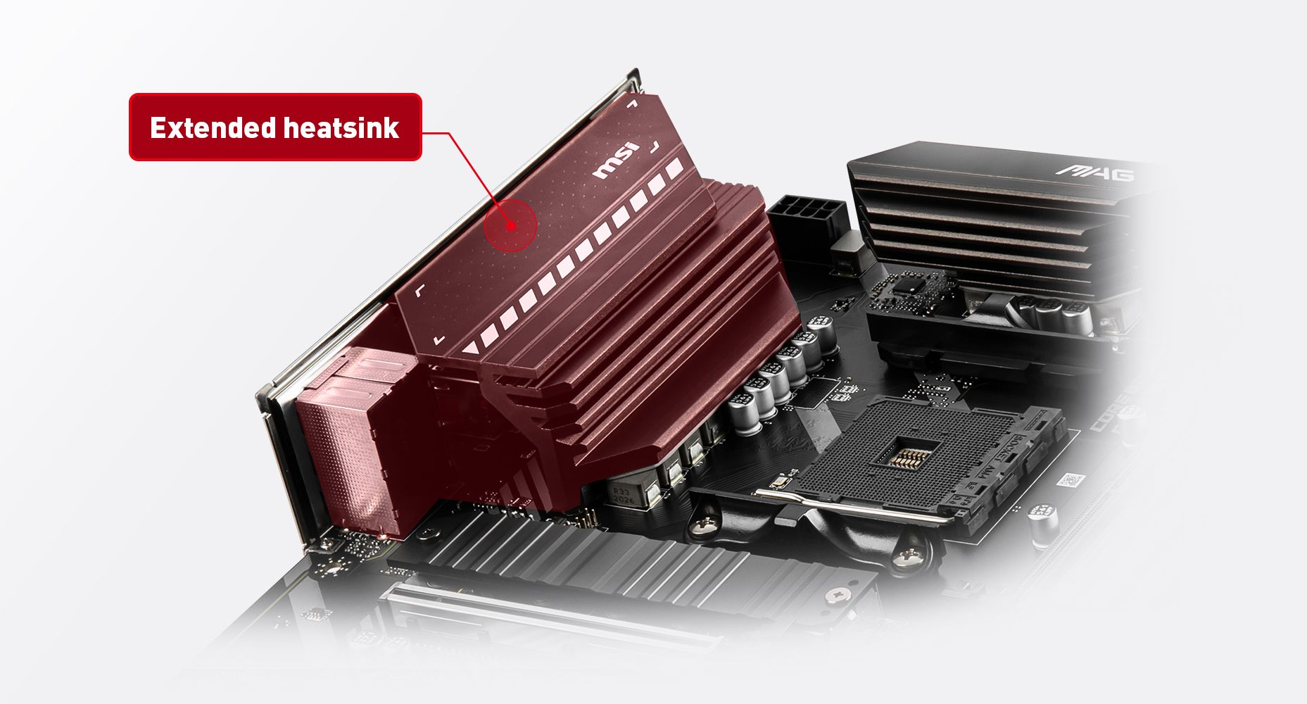MSI MAG B550 TORPEDO THERMAL SOLUTION FOR MORE CORES AND HIGHER PERFORMANCE