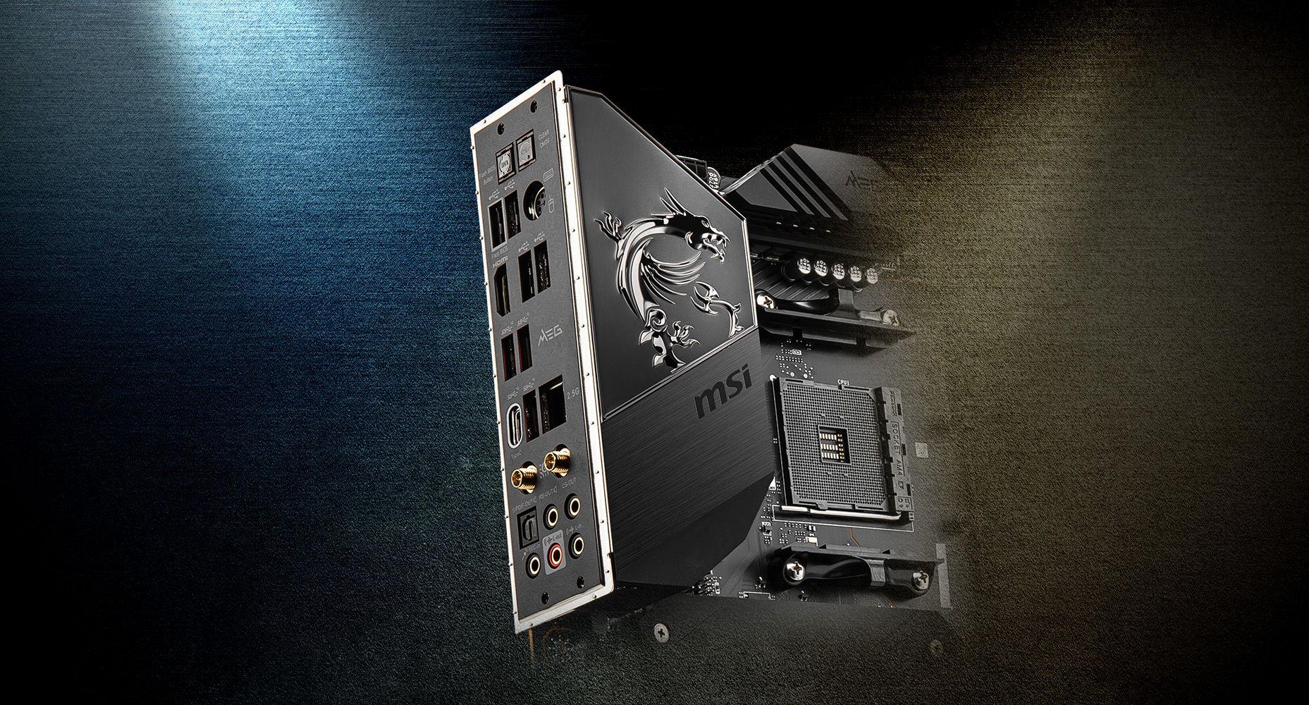 MSI MEG B550 UNIFY-X PRE-INSTALLED IO