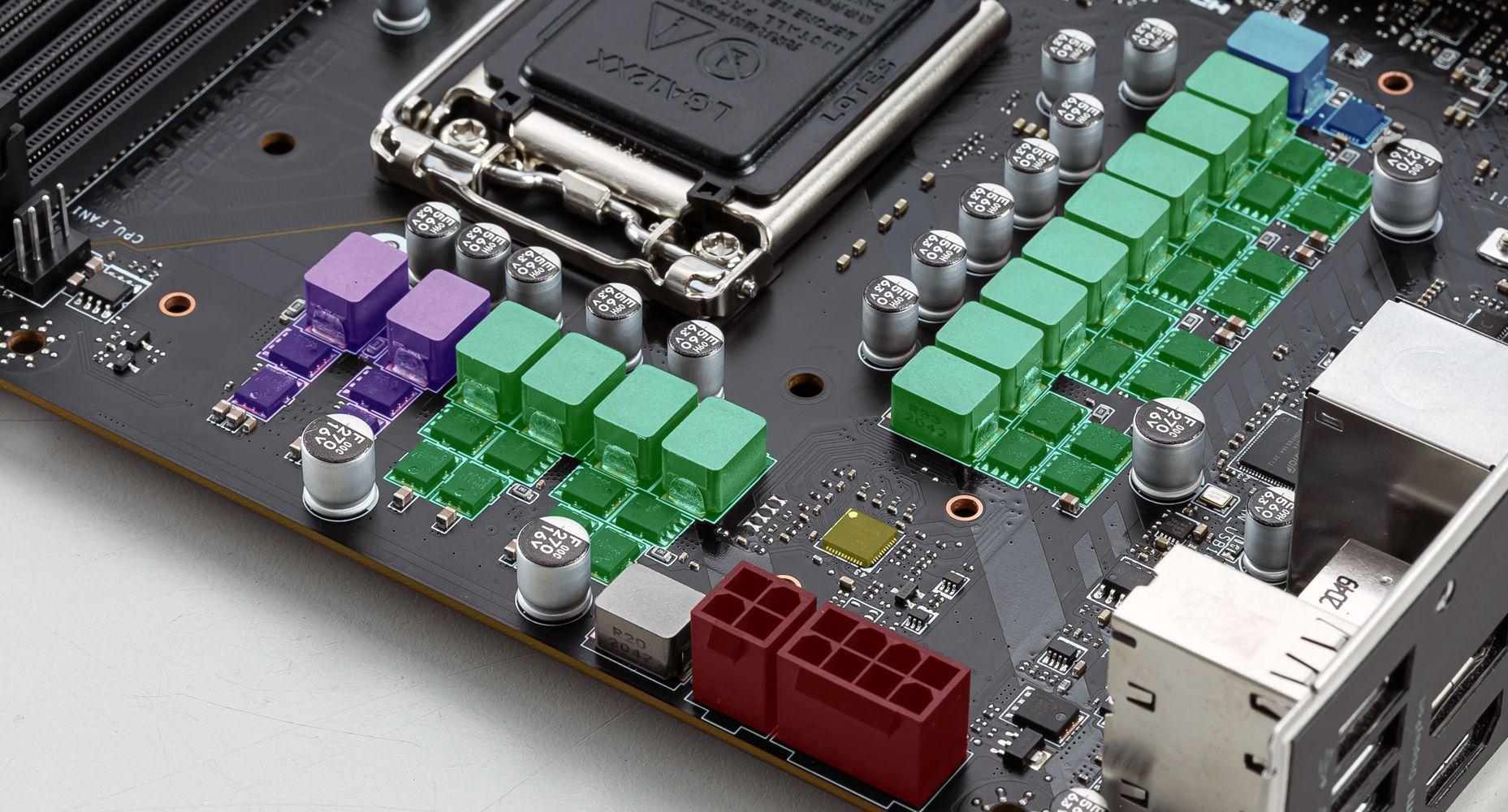 MSI MAG B560 TOMAHAWK WIFI DUET RAIL POWER SYSTEM