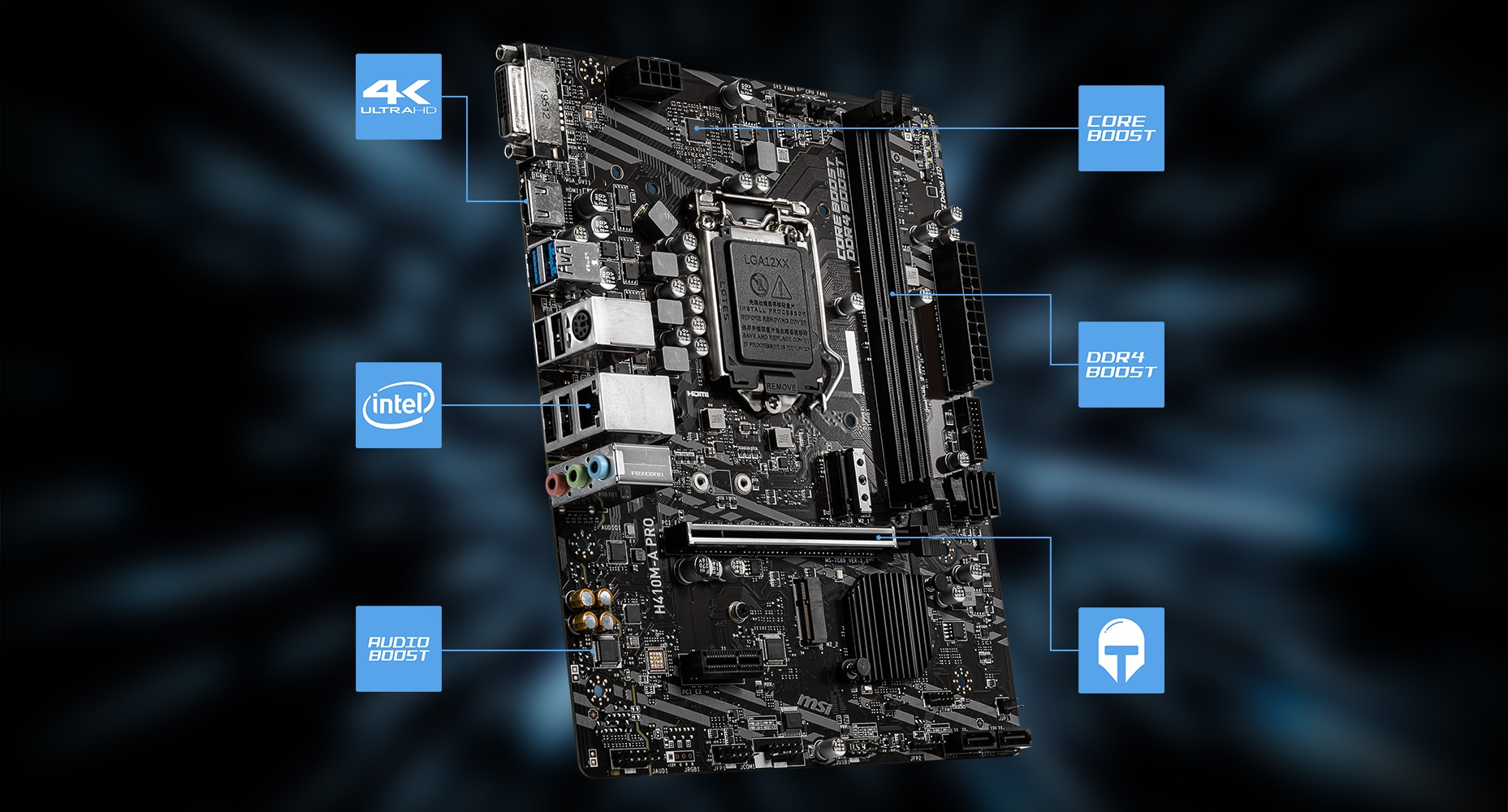 MSI H410M-A PRO LIGHTNING overview