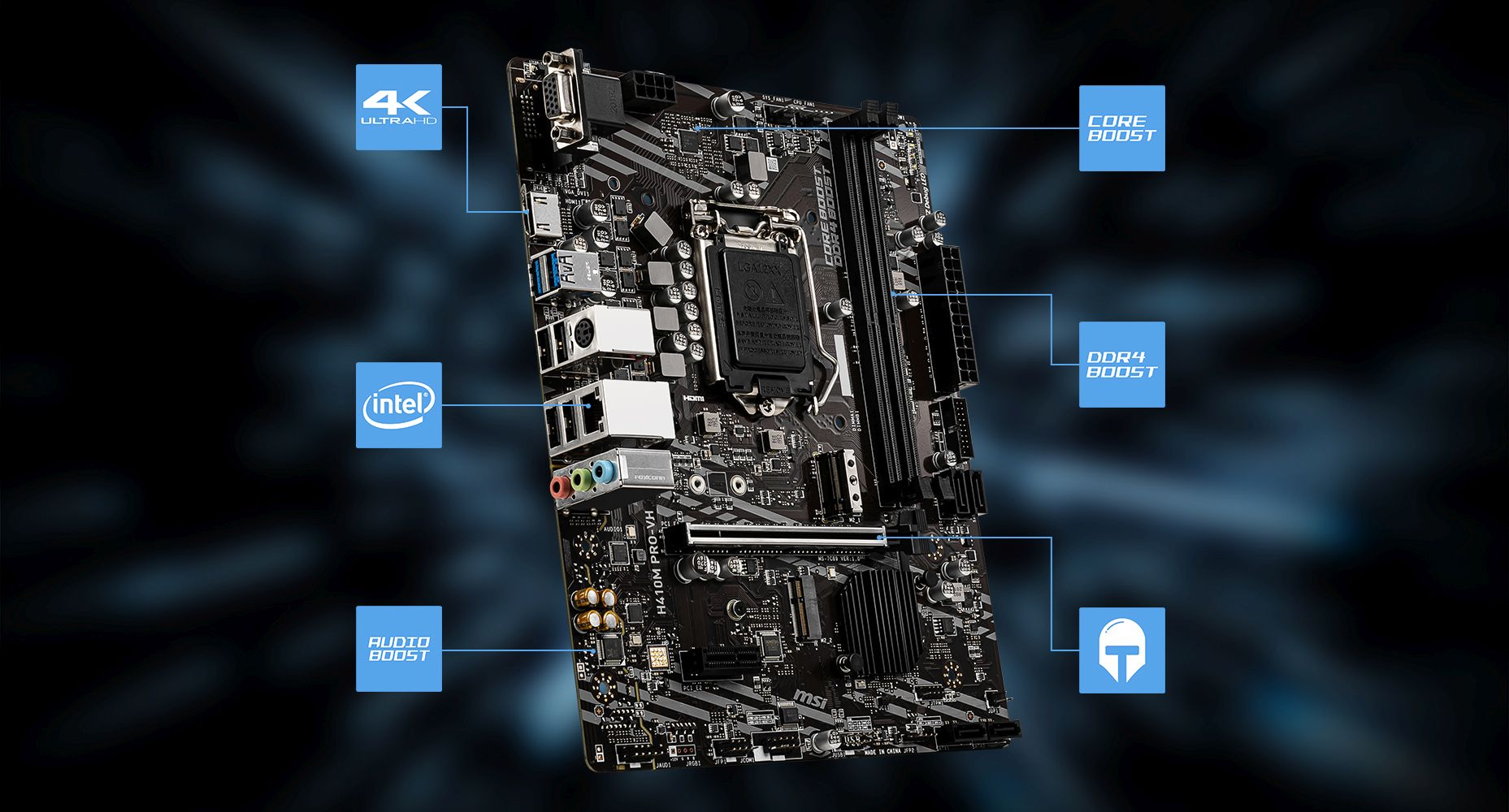 MSI H410M PRO-VH LIGHTNING overview