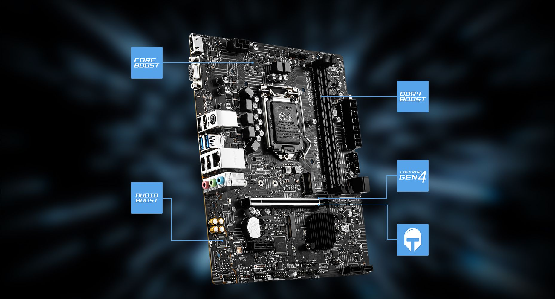 MSI H510M-A PRO LIGHTNING overview