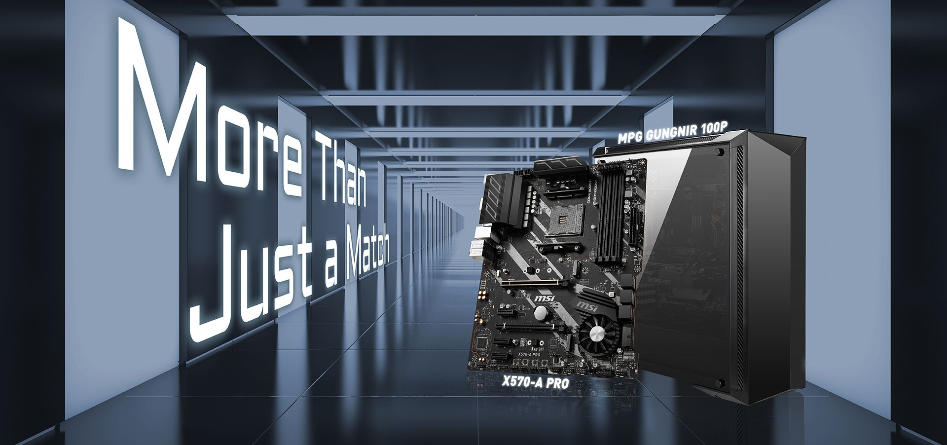 MSI X570-A PRO & MPG GUNGNIR 100P BG